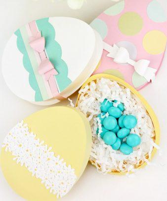 làm hộp quà quả trứng