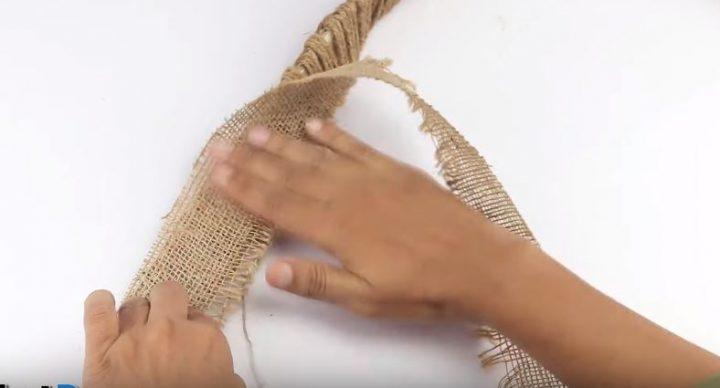 làm khay đựng đồ bằng dây thừng