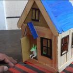 Làm nhà bằng que kem gỗ cho hamster