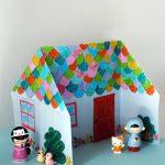 Hướng dẫn làm nhà búp bê bằng giấy