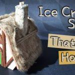 Cách làm nhà tí hon đơn giản bằng que kem
