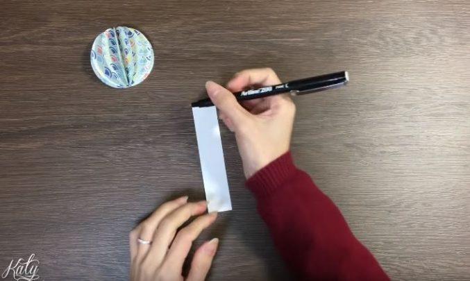 làm quả cầu giấy
