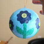 Hướng dẫn làm quả cầu hình trái đất dễ thương