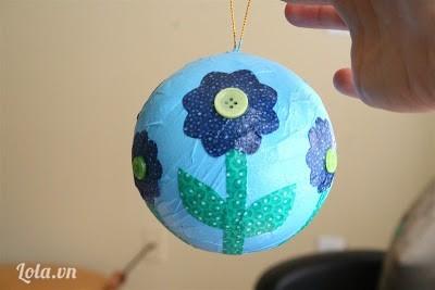 làm quả cầu hình trái đất