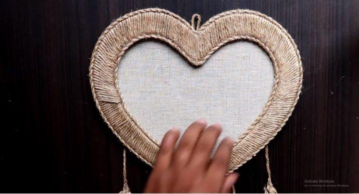 cách làm trái tim trang trí phòng