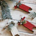 Hướng dẫn làm xe trượt tuyết cho ngày Giáng Sinh