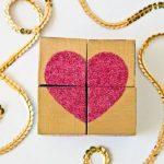 Hướng dẫn làm xúc xắc gỗ hình trái tim