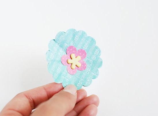 làm chậu hoa giấy handmade xinh xắn