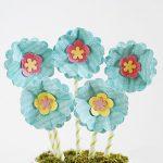Cách làm chậu hoa bằng giấy handmade xinh xắn
