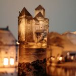 Cách làm đèn ngủ bằng giấy hình ngôi nhà cực đẹp