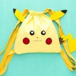 Hướng dẫn may túi Pikachu để đi bắt Pokemon