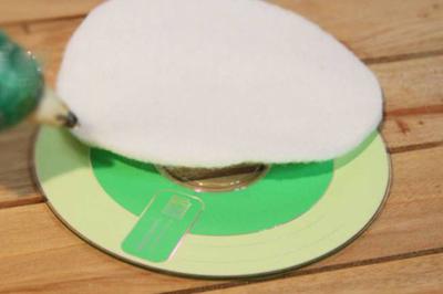 cách làm hộp giấy từ đĩa cd