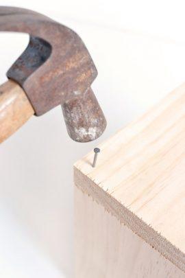 cách làm chậu trồng cây từ gỗ vụn