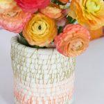 Hướng dẫn cách làm bình cắm hoa bằng dây thừng