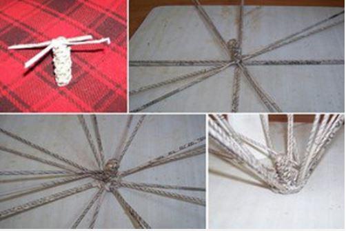 cách đan giỏ hình quả táo