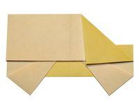 cách gấp chiếc xe origami