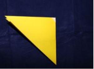 cách gấp chuối origami