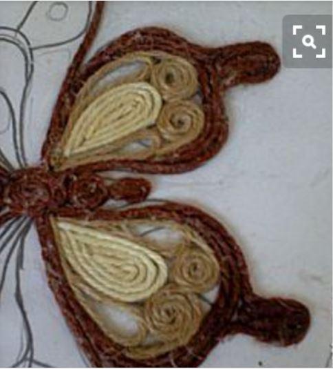 cách gấp con bướm bằng dây thừng