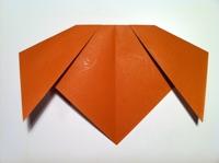 cách gấp con chó origami
