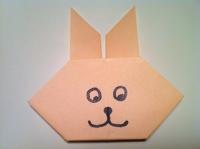 cách gấp con thỏ