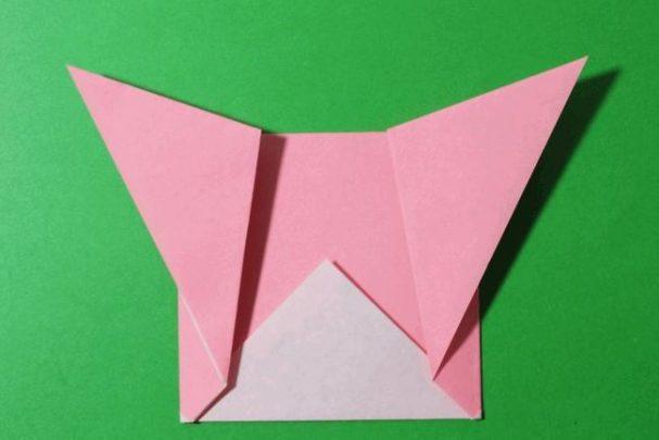 cách gấp gấu bông giấy