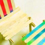Hướng dẫn làm bàn ghế từ que kem gỗ cho búp bê