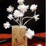 Hướng dẫn làm hoa tuyết bằng khăn giấy tuyệt đẹp