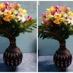 Hướng dẫn làm bình hoa handmade từ khăn giấy