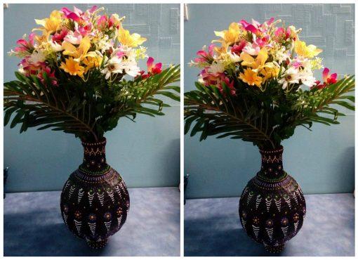 cách làm bình hoa tuyệt đẹp
