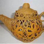 Hướng dẫn làm bình trà đơn giản từ dây thừng