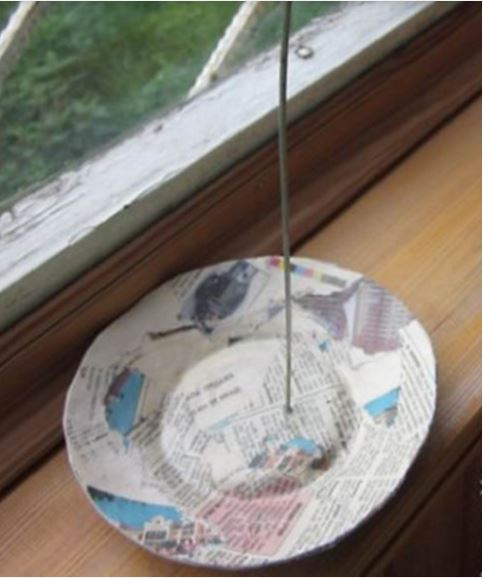 cách làm bộ tách đĩa cà phê bằng dây thừng