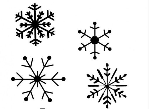 cách làm bông tuyết bằng keo nến