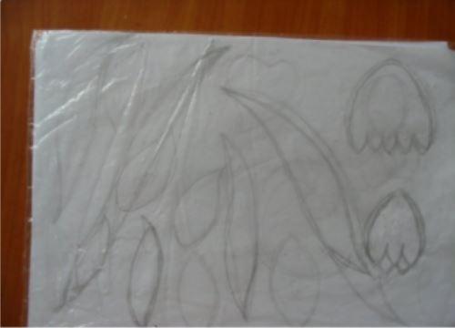 cách làm bức tranh giỏ hoa từ dây thừng