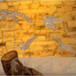 Hướng dẫn làm cánh bướm bằng keo nến