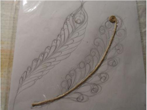 cách làm cánh bướm bằng dây thừng