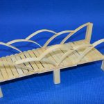 Hướng dẫn làm cây cầu siêu đẹp từ que kem gỗ