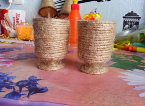 cách làm cây thông noel bằng dây thừng
