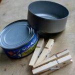 Hướng dẫn làm chậu hoa đơn giản từ kẹp gỗ