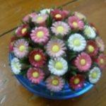 Hướng dẫn làm chậu hoa đơn giản từ ống hút
