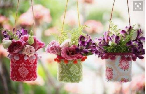 cách làm chậu trồng cây từ lọ nhựa