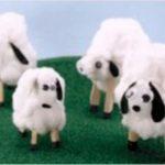 Hướng dẫn làm chú cừu siêu đơn giản từ bông gòn