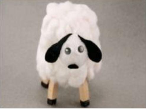 cách làm chú cừu đáng yêu