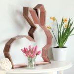 Hướng dẫn làm chú thỏ bằng que kem gỗ