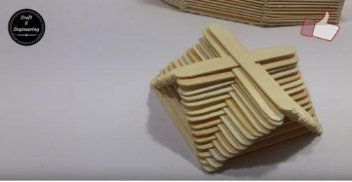 cách làm con thuyền bằng que kem gỗ
