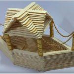 Hướng dẫn làm một chiếc thuyền từ que kem gỗ