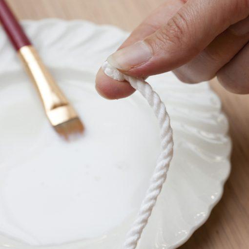 cách làm đế lót ly từ dây thừng