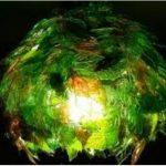 Hướng dẫn làm đèn chụp lá cây từ vỏ chai nhựa