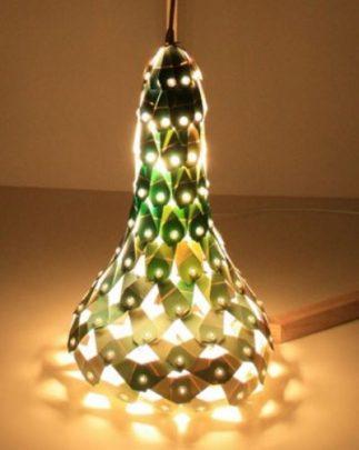 cách làm đèn chụp bằng giấy