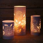 Hướng dẫn làm đèn ngủ kirigami cực đẹp