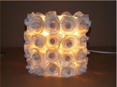 cách làm đèn ngủ bằng nhựa